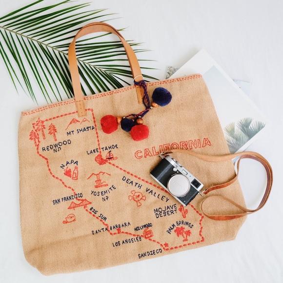 Star Mela Handbags - Star Mela Vacation Tote—California